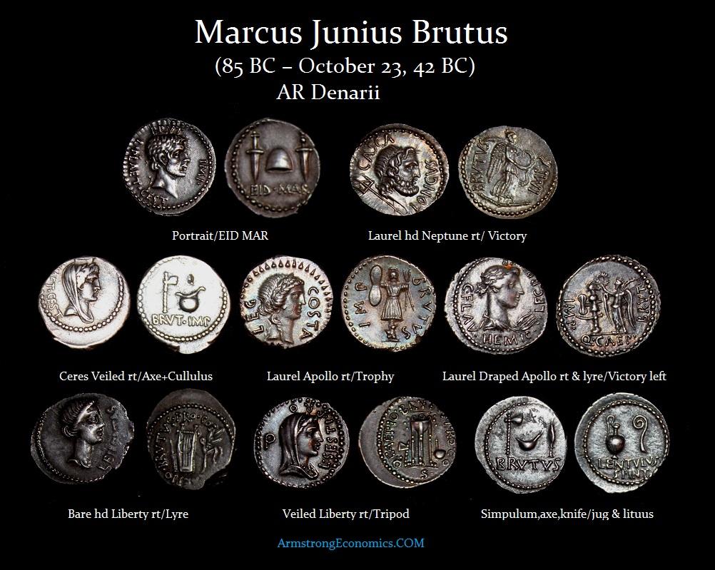 Brutus AR Denarii-r