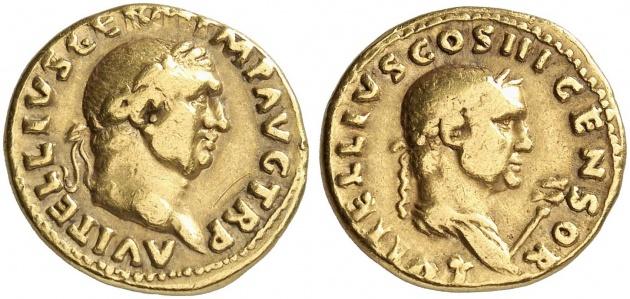 Lucius Vitellius AU Aureus