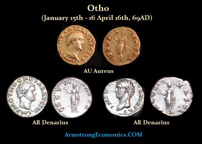 OTHO Aureus Denarius