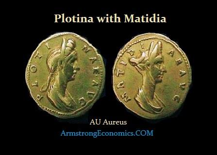 Plotina-Matidia AU Aureus