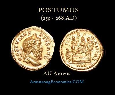 Postumus AU Aureus - R