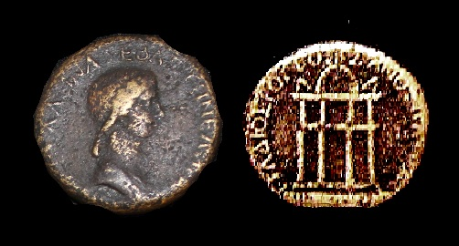Valeria Messalina - AE Dupondius