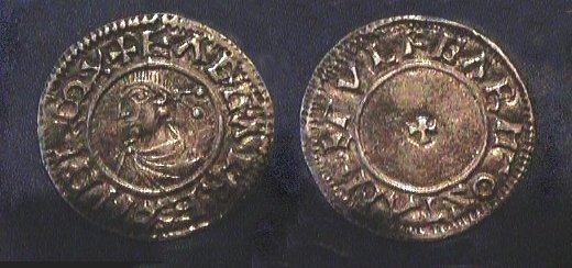 Eadgar-portrait silver penny