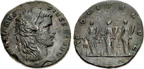 Gallienus AD 253-268 Æ Medallion (34,5mm, 27,99) Rome mint