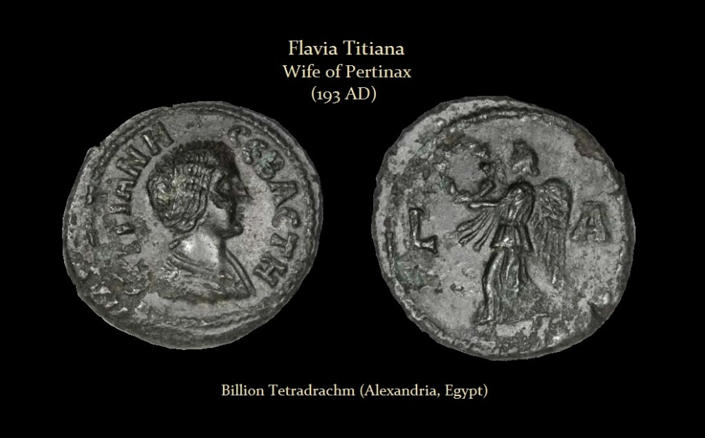 TITIANA Billion Tetradrachm (Alexandria, Egypt)