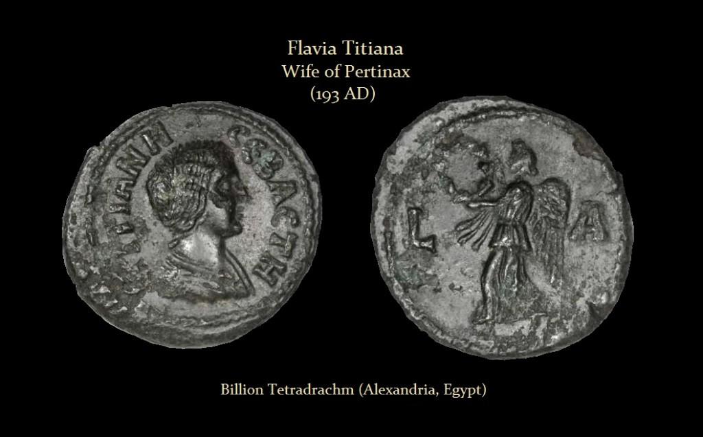 TITIANA Billion Tetradrachm (Alexandria, Egypt)