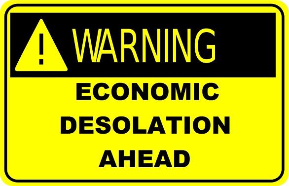 ECONOMIC DESOLATION