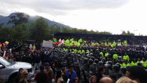Ecuador Protests June 2015