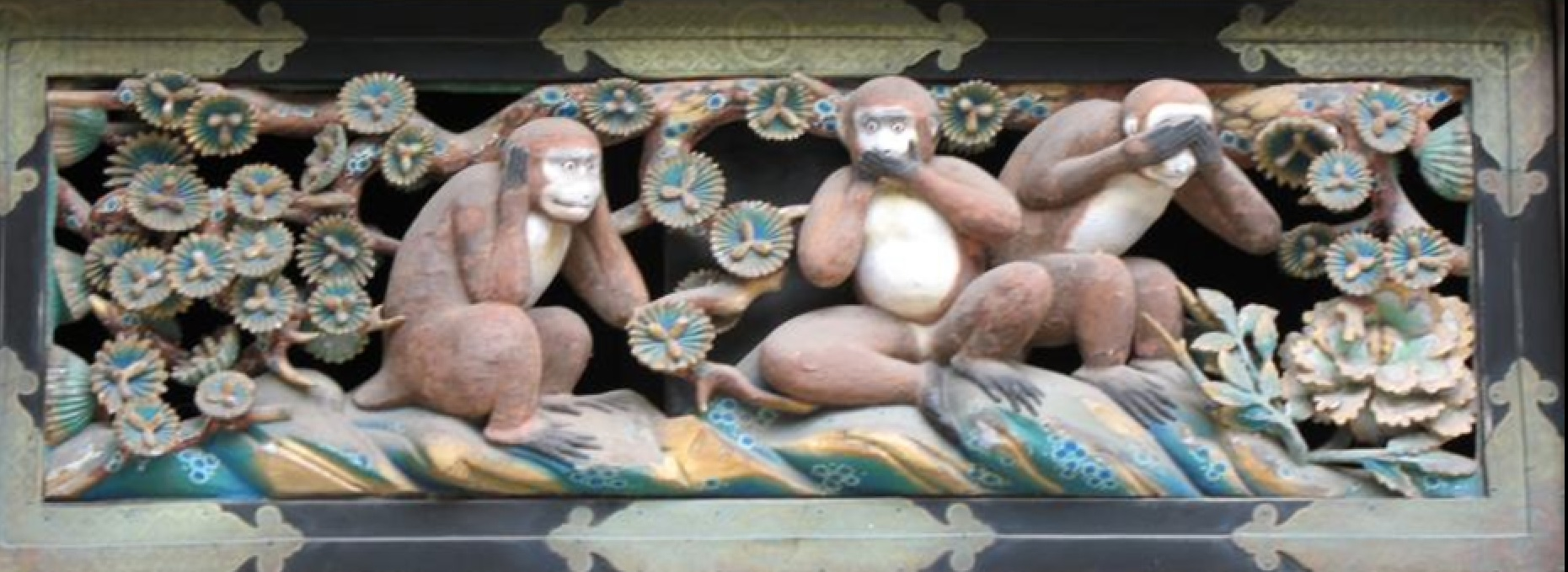 Nara See No Evil Hear No Evil Speak No Evil Monkeys