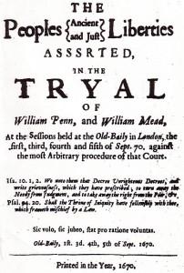 Wm Penn Trial