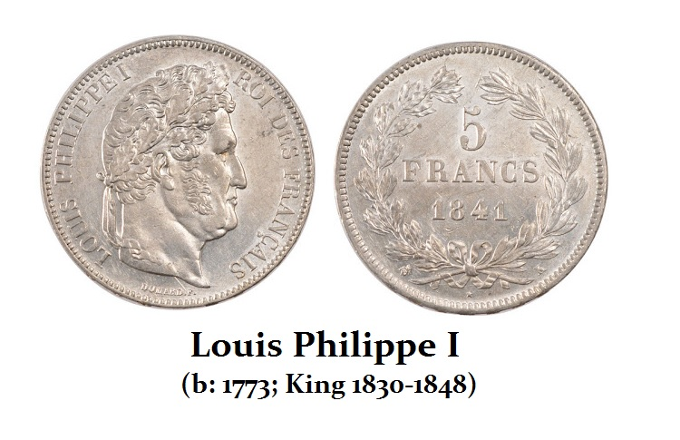 Louis Philippe I (1830 to 1848)