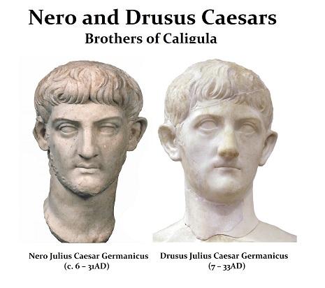 Nero and Drusus Caesars - r