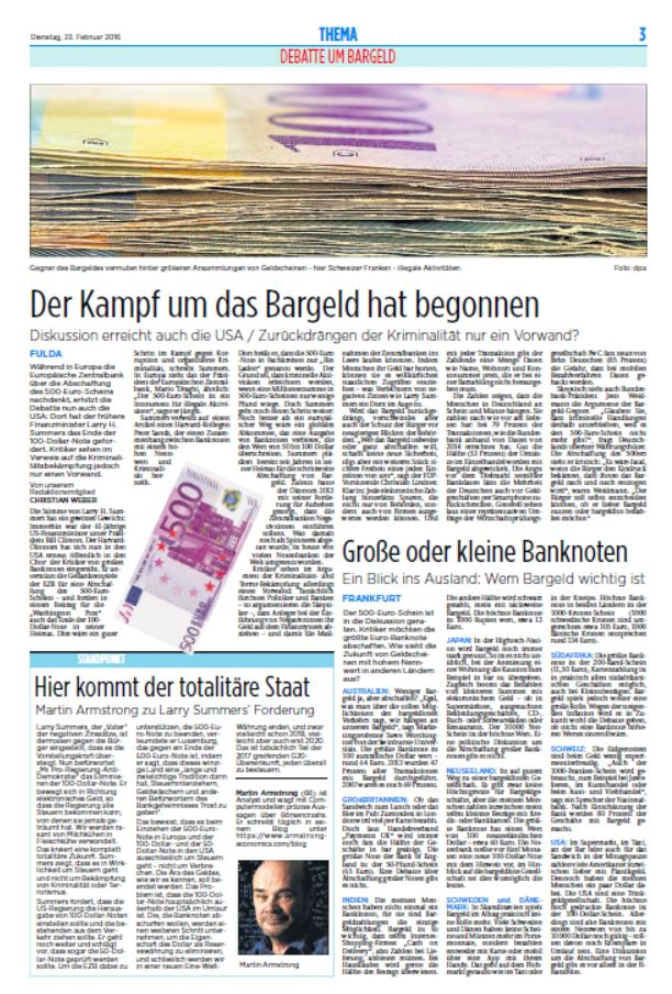 Fuldaer Zeitung 2-23-2016