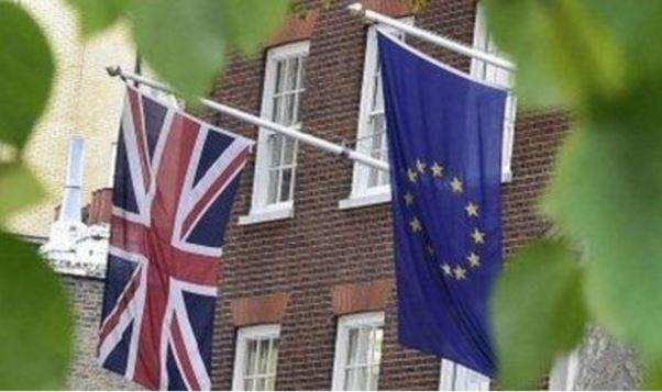 UK - Euro Flags