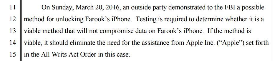 Apple Court Document