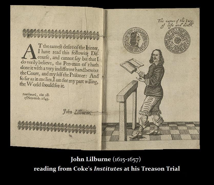 Lilburne John Trial