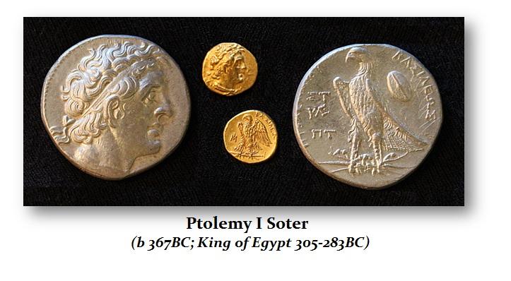 Ptolemy-I - Denominations