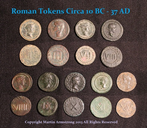 Tiberius TOKENS - R