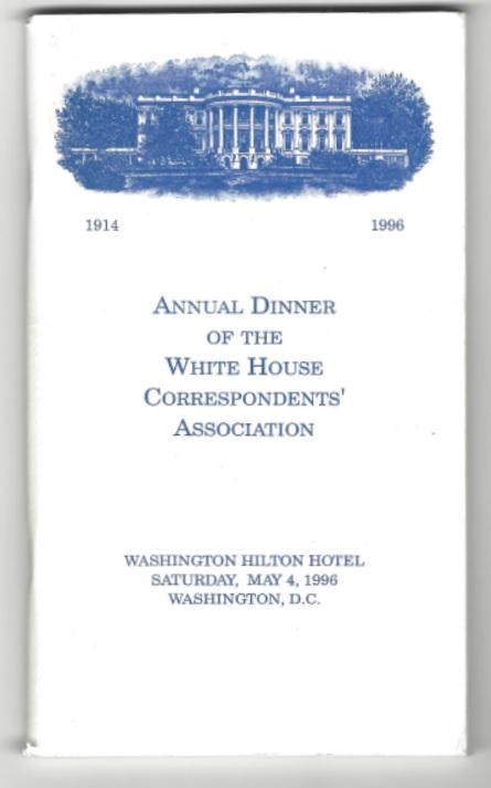 White House Dinner 1996