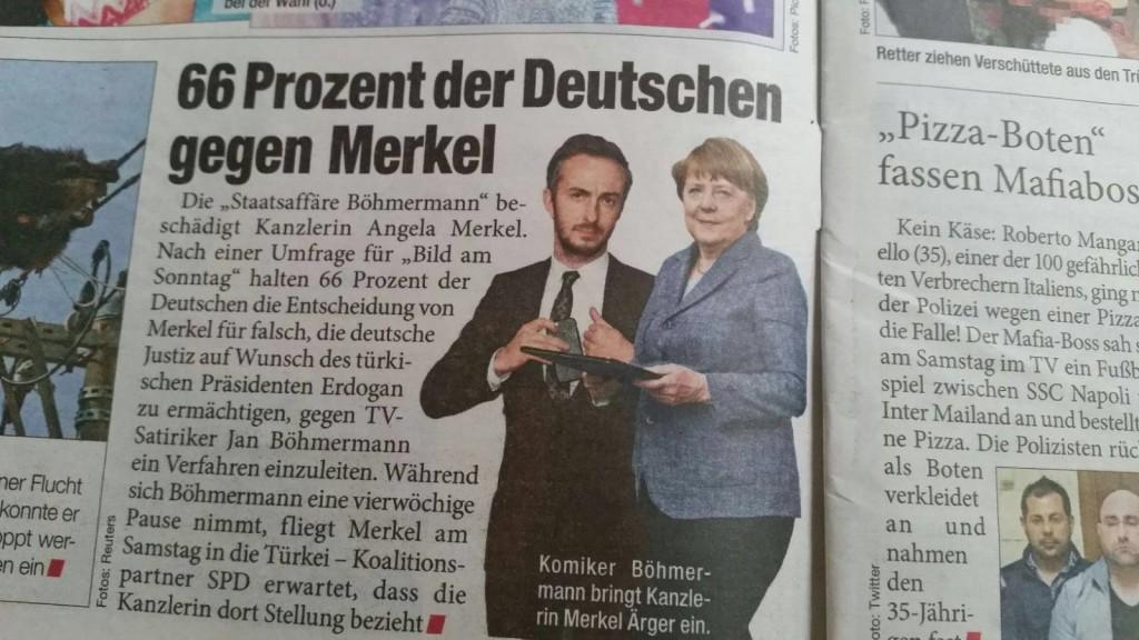 66% Against Merkel