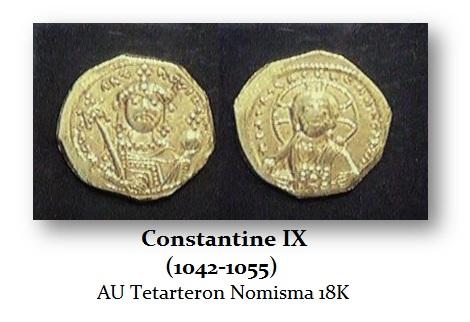 Constantine-IX Tetarteron