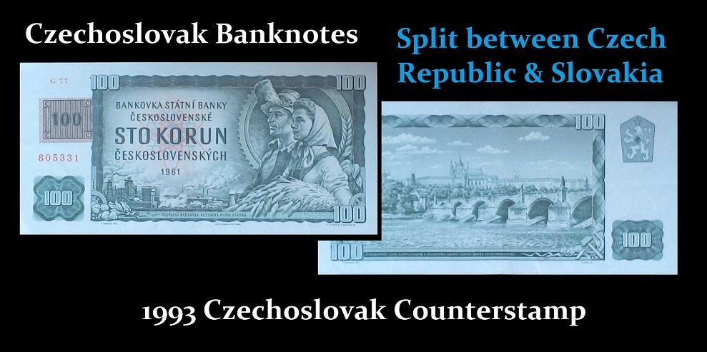 Czech Republic Slovakia Split 1993-R