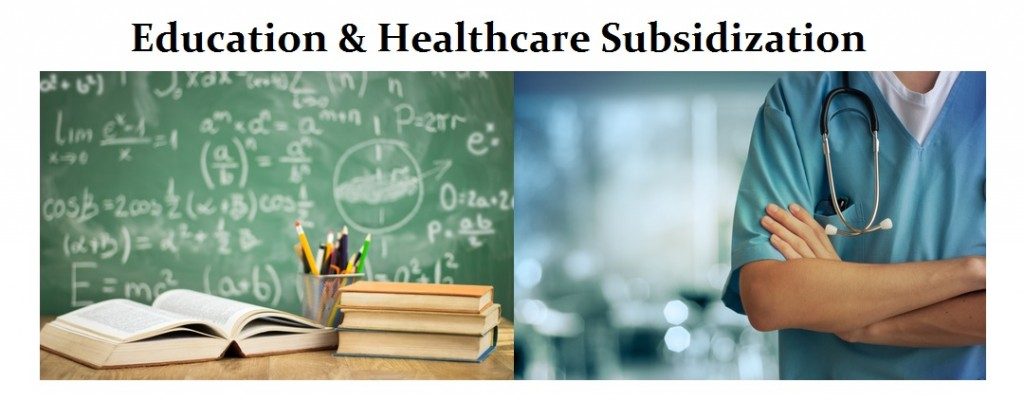 Education-Healthcare-Subsidization