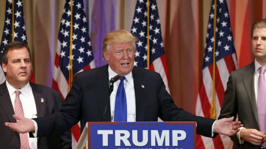 Trump-Christie-Transition Chief