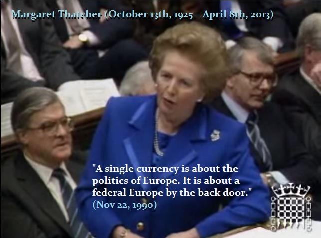 Thatcher-Federal Europe