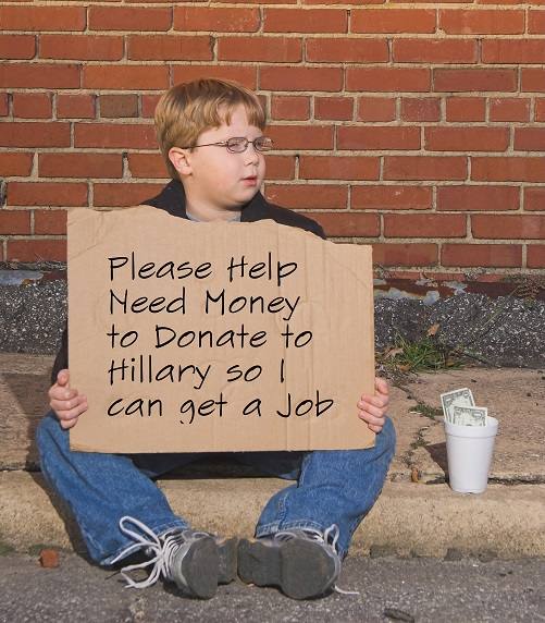 Need Money for Hillary