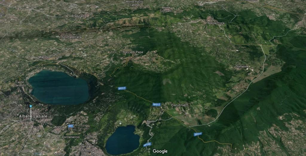 Rome Volcano