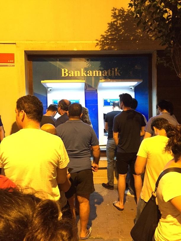 Turkey Coup Bank Run 7-15-2016