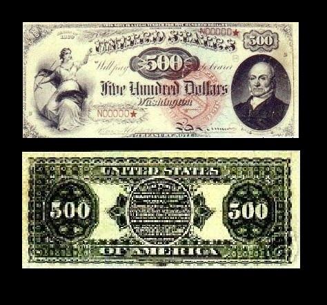 1869$500LegalTender