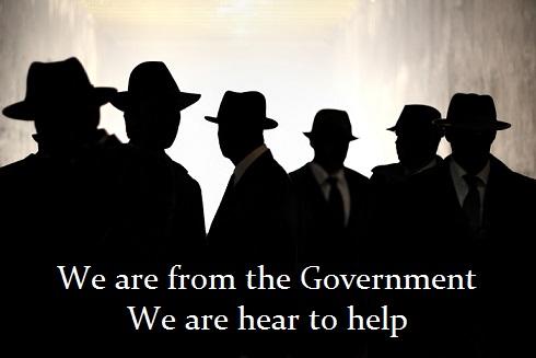 Olemme hallituksesta. Tulimme tänne auttaaksemme sinua.