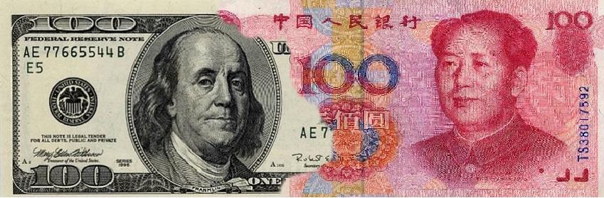 Dollar-Yuan-Transfer