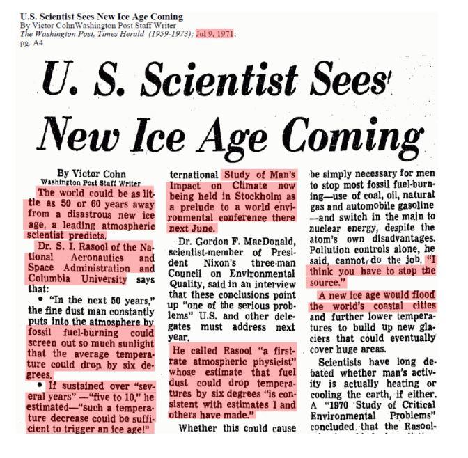 Washington Post - Ice Age