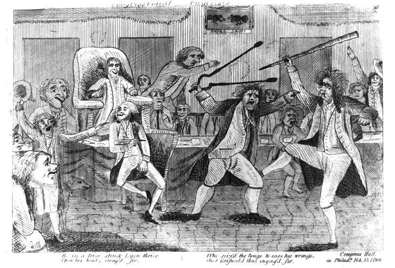 1798 Congressional Brawl
