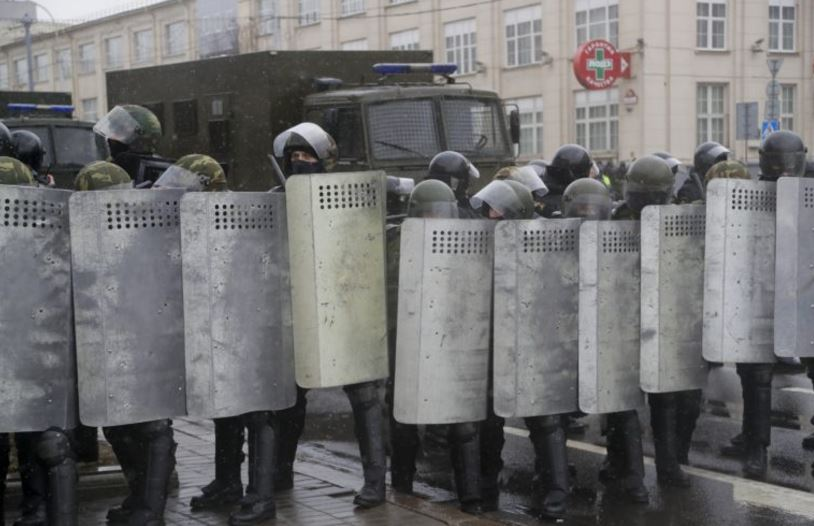 Belarus Protest March 2017