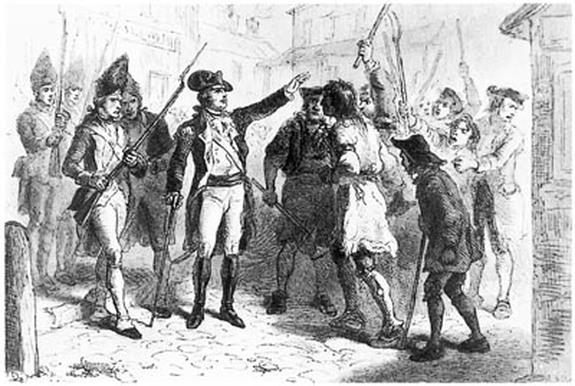 Regulator Uprising 1771