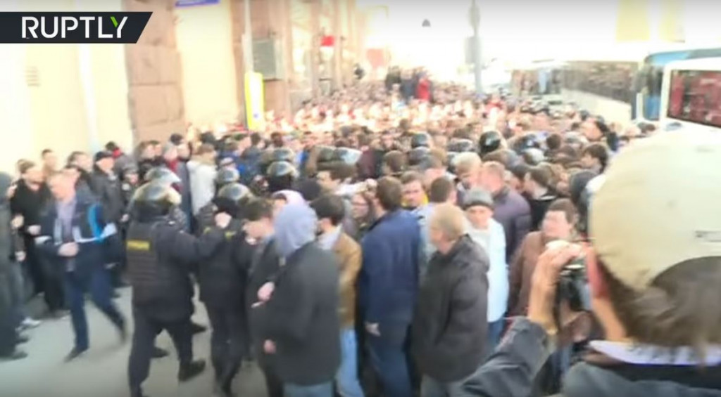 Russian Protests 3-26-2017