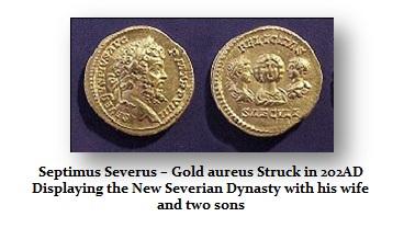 Septimus Severus-Aureus-Family
