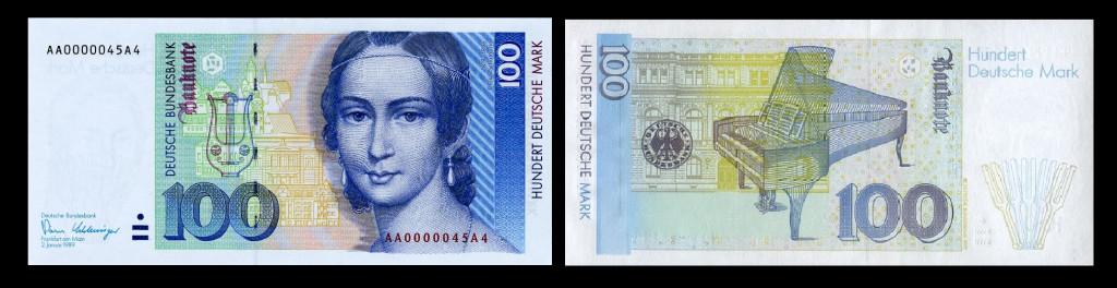 100 Deutschemarl