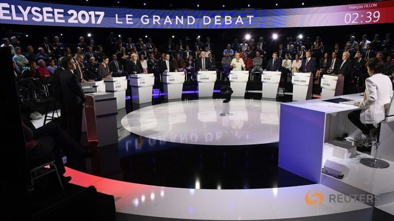 French Debate 4-5-2017