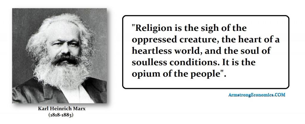 Marx Religion Opium of Masses
