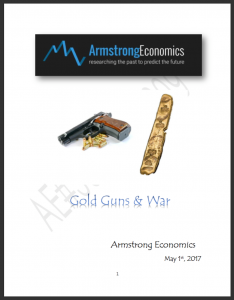Armstrong Economics 2017 Gold, Guns & War Report