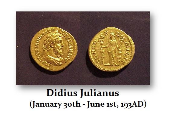 Didius Julianus aureus investing español, noticias financieras