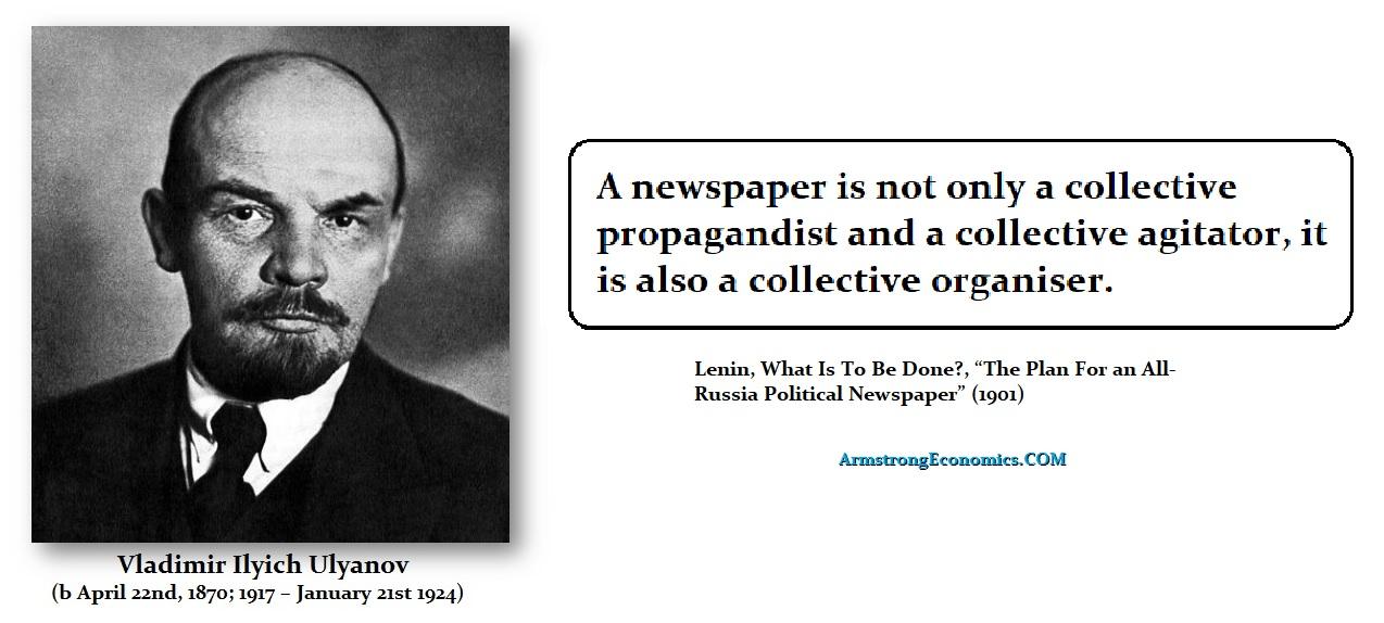 Lenin kirjoitti lehdistöstä